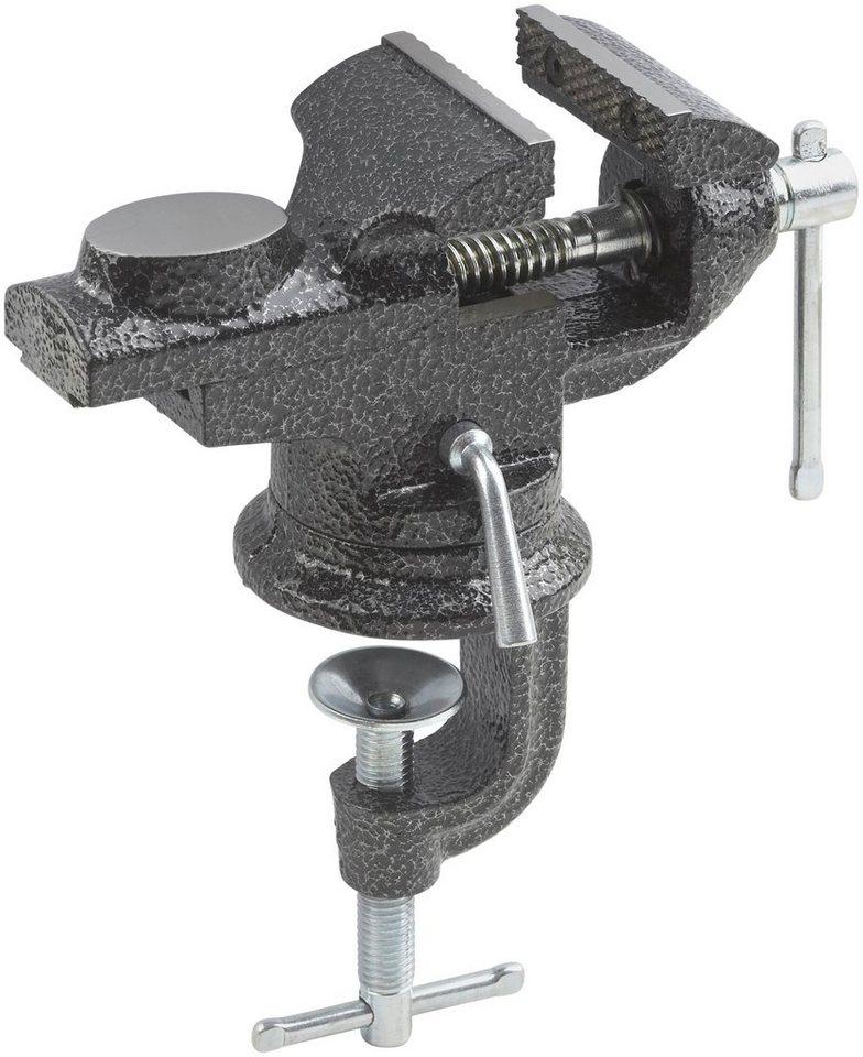Schraubstock »60 mm« in grau