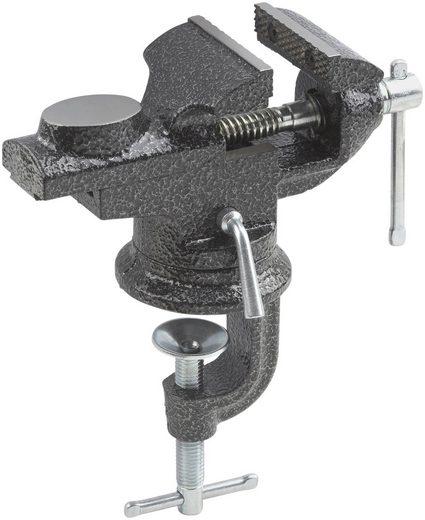 MEISTER Schraubstock Spannweite: 0 bis 60 mm