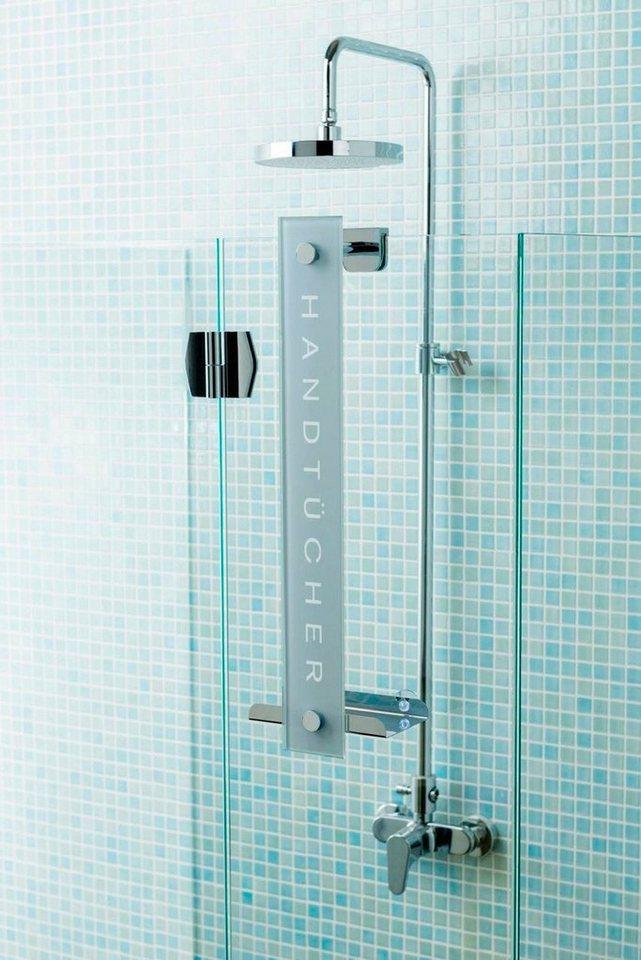 Handtuchhalter »Cornat Design« in grau/silber