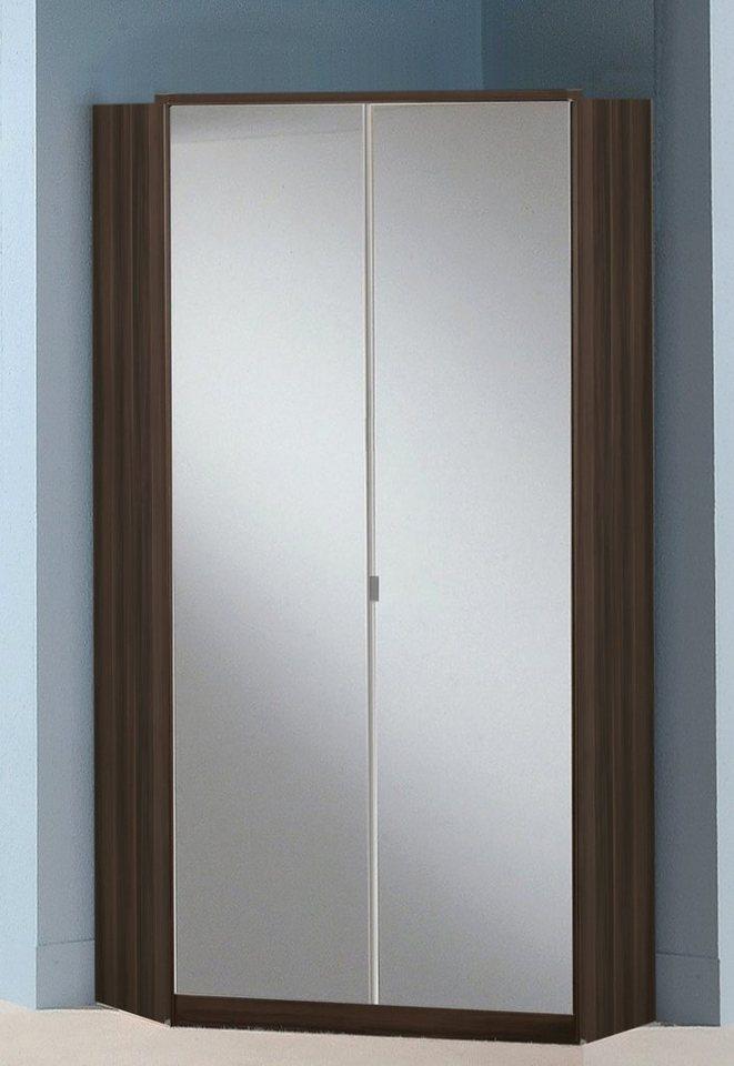 eckschrank mit spiegel preisvergleiche. Black Bedroom Furniture Sets. Home Design Ideas