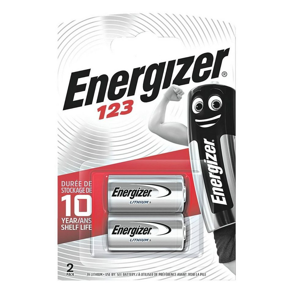 Energizer Photo Batterie »Spezial Lithium Foto« 123 / CR17345