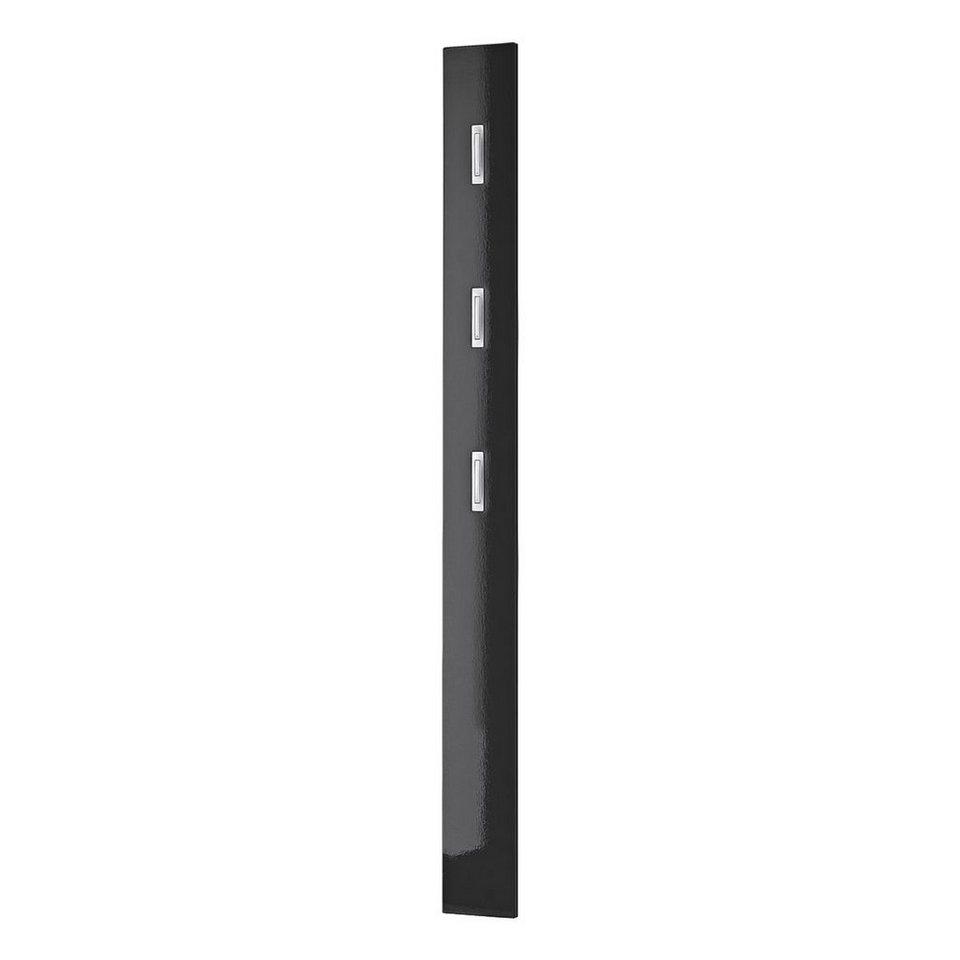 Garderobenpaneel »Colorado« in schwarz
