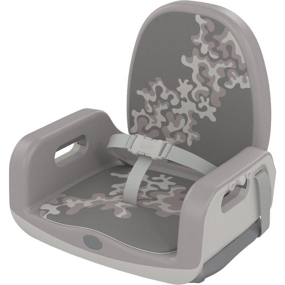CHICCO Babystuhlsitz Up To 5, Premium Line, grey in grau