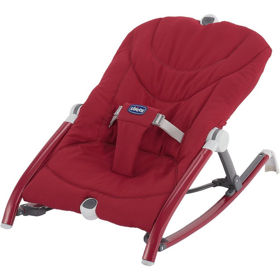 CHICCO Wippe Pocket Relax, red in rot