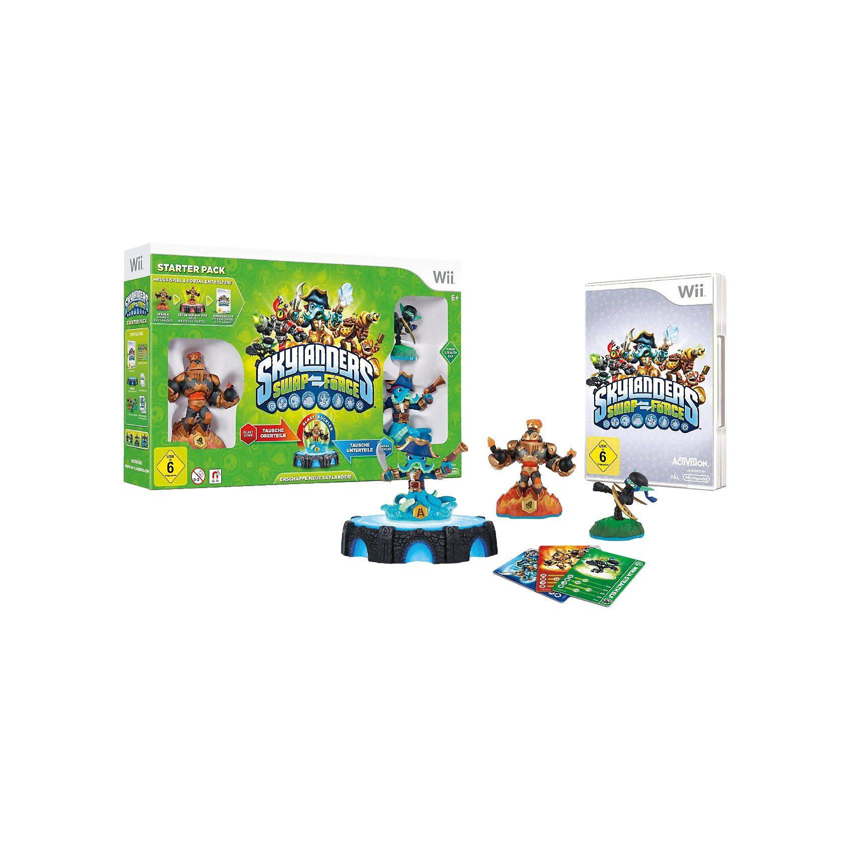 ak tronic Wii Skylanders Swap Force Starter Pack
