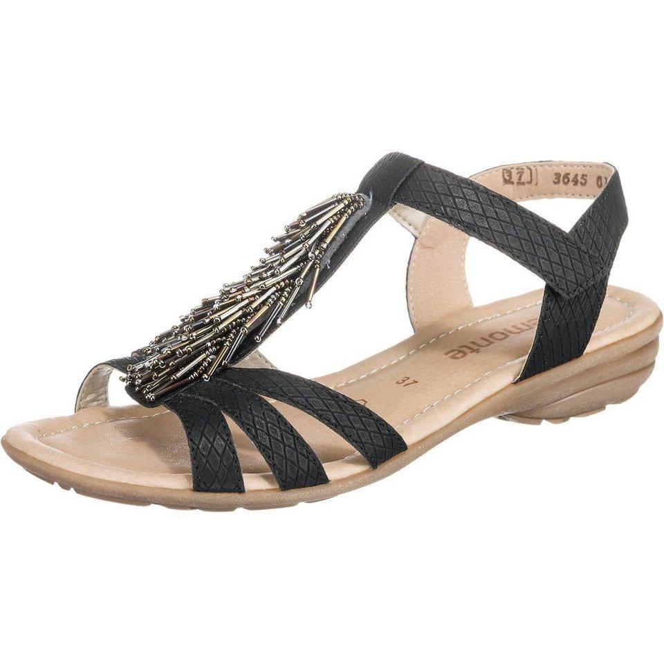 remonte Sandaletten in schwarz