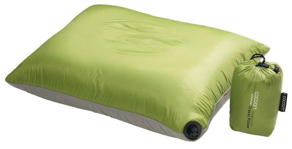 Cocoon Reisekissen »Air Core Pillow Ultralight 38x48cm« in grün