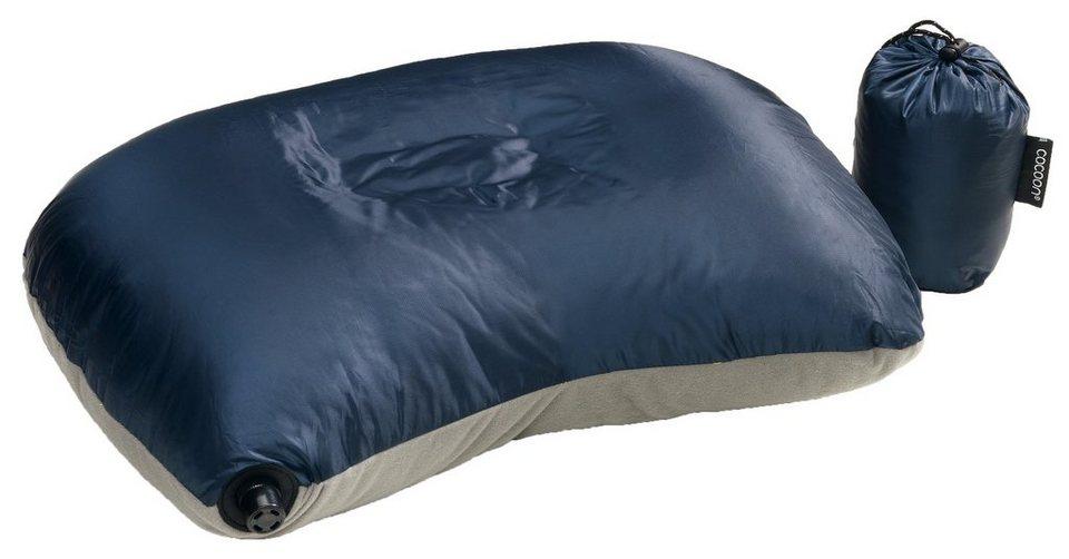 Cocoon Reisekissen »Air Core Down Travel Pillow« in blau