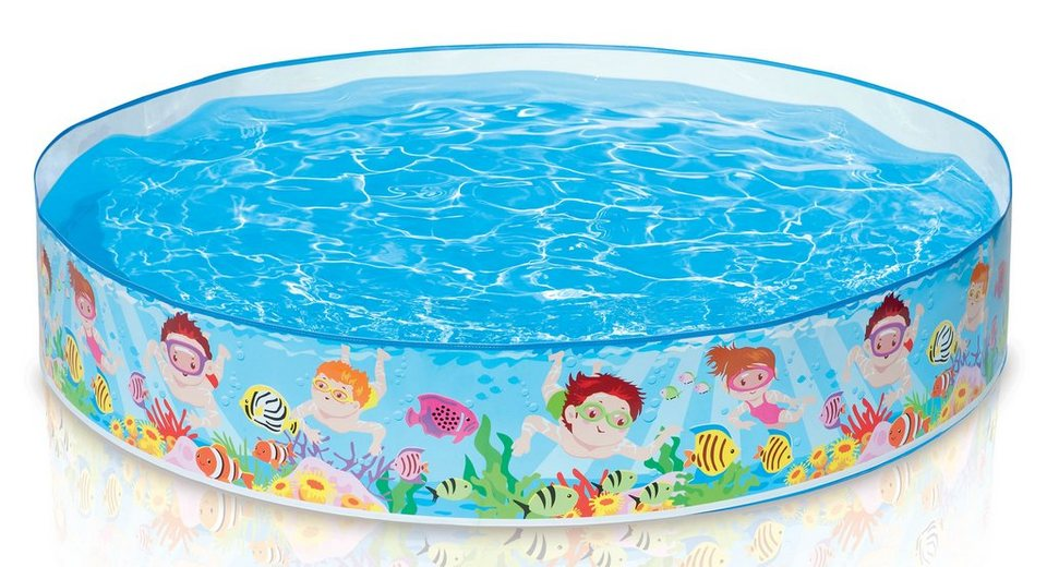 Intex Snapset Kinder Pool, »Snorkel Buddies« in blau