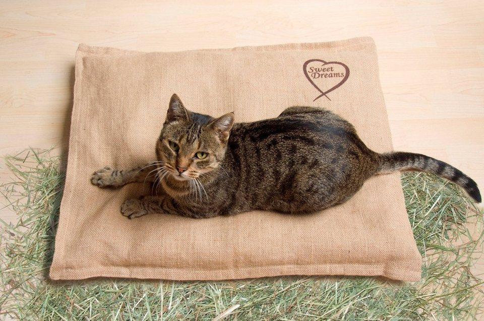 Hundebett und Katzenbett »Bio-Heubett Sweet Dreams« in beige