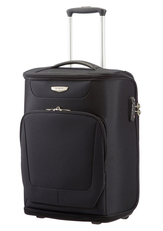 Samsonite Trolley-Kleidersack mit 2 Rollen, Kleiderbügel und Schuhtasche, »Spark« in black