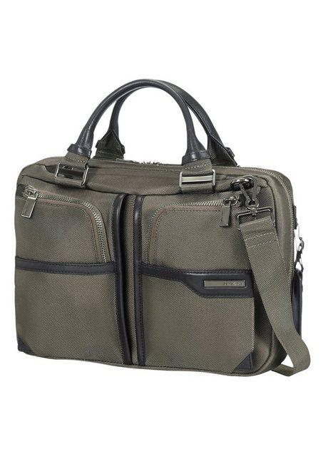 Samsonite Businesstasche mit Trolley-Aufsteck-System, Laptop- und Tabletfach, »GT Supreme« | Taschen > Business Taschen > Sonstige Businesstaschen | Grün | Nylon | Samsonite