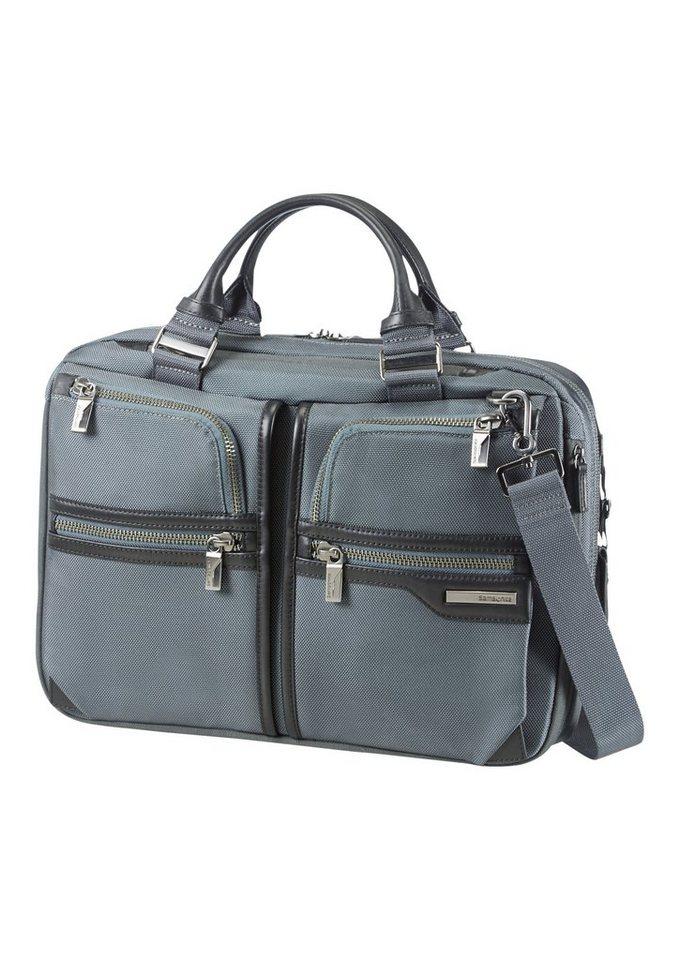 Samsonite Businesstasche mit Volumenerweiterung, Tablet- und Laptopfach »GT Supreme« in grey/black