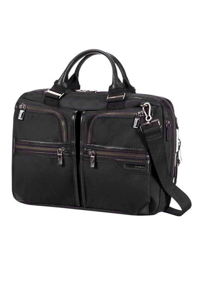 Samsonite Businesstasche mit Volumenerweiterung, Tablet- und Laptopfach »GT Supreme« in black/black