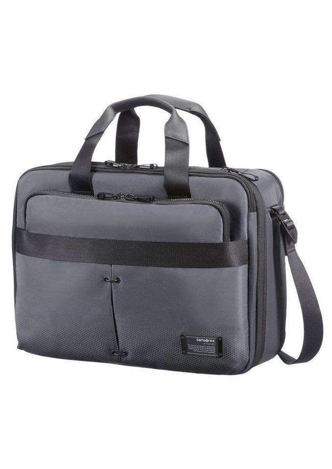 Samsonite Businesstasche mit Erweiterungs- und Rucksackfunktion, »Cityvibe« in ash grey