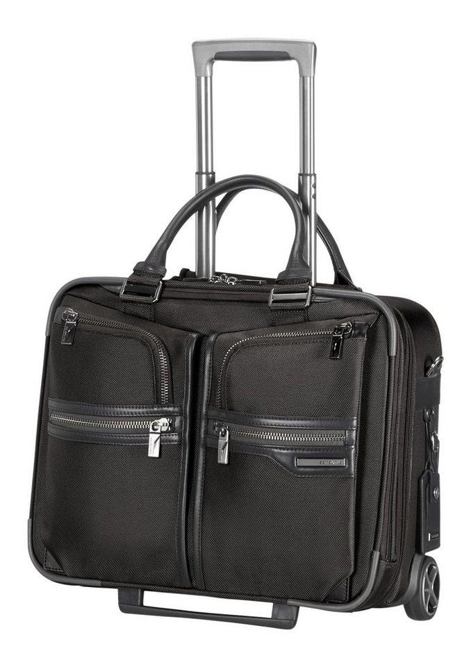 Samsonite Businesstrolley mit 2 Rollen, Tablet- und 16,4-Zoll Laptopfach, »GT Supreme« in black/black