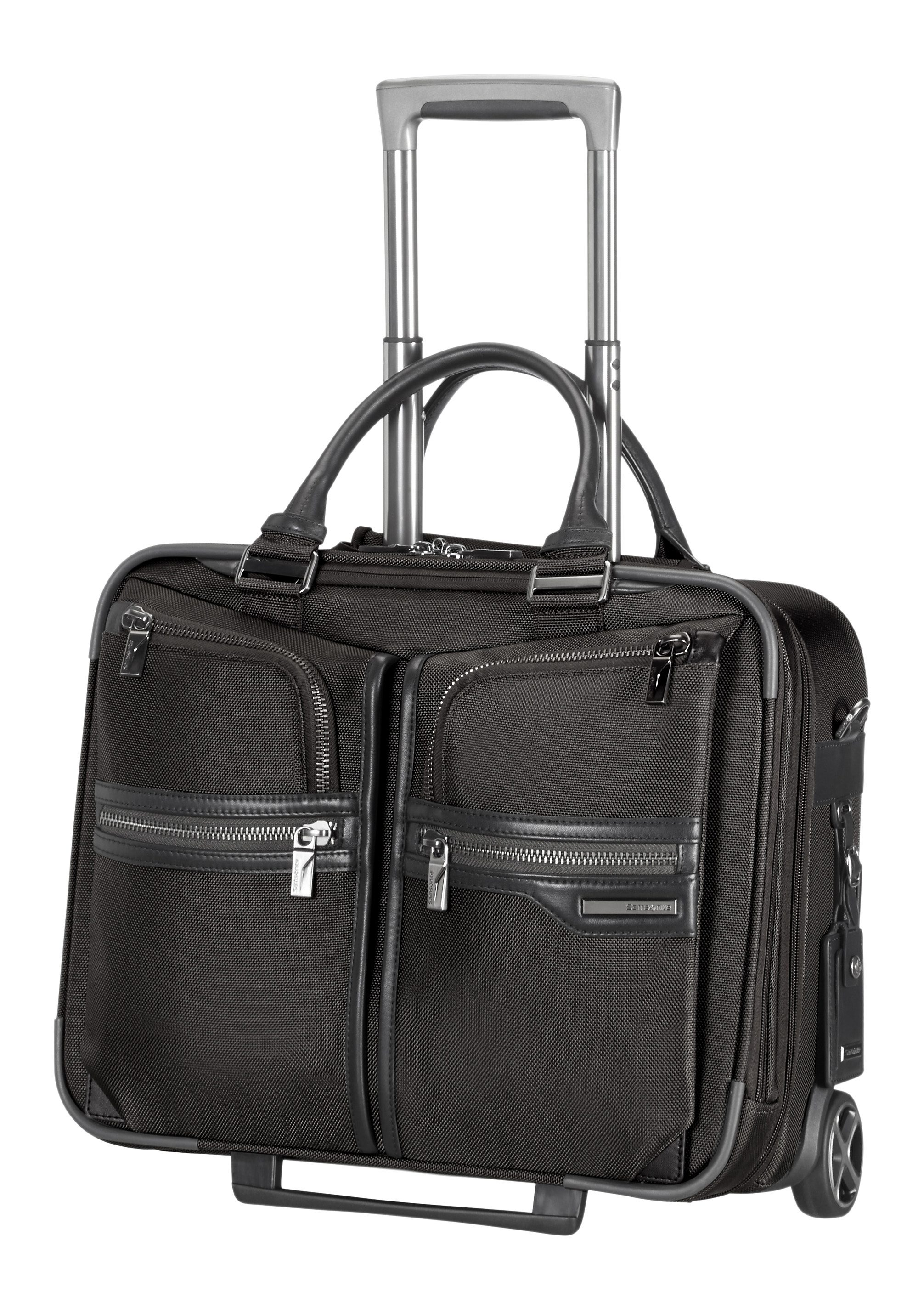 Samsonite Businesstrolley mit 2 Rollen, Tablet- und 16,4-Zoll Laptopfach, »GT Supreme«