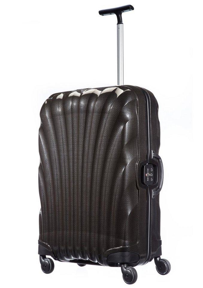 Samsonite Hartschalen Trolley mit 4 Rollen und TSA-Zahlenschloss, »Lite-Locked Spinner« in black