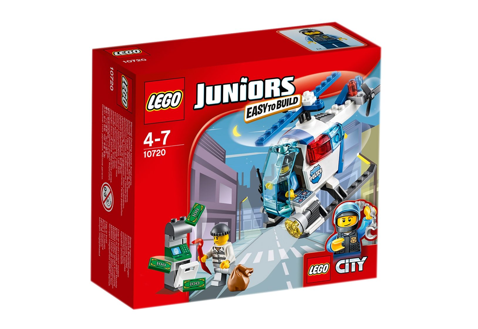 LEGO®, Verfolgung mit dem Polizeihelikopter (10720), »LEGO® Juniors«