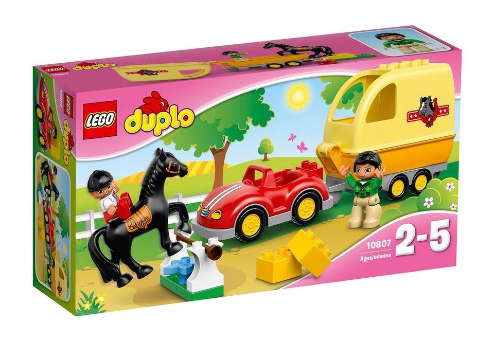 LEGO® Wagen mit Pferdeanhänger (10807), »LEGO® DUPLO® Town«