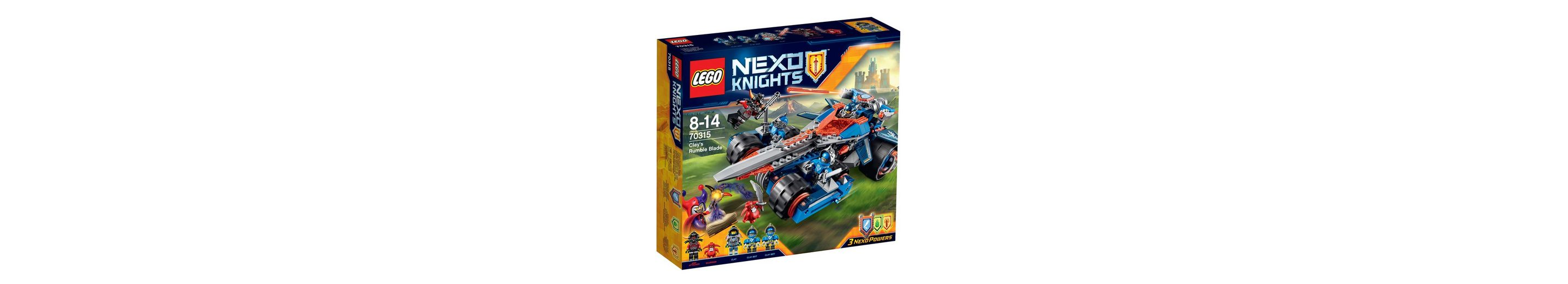 LEGO® Clays Klingen-Cruiser (70315), »NEXO KNIGHTS™«