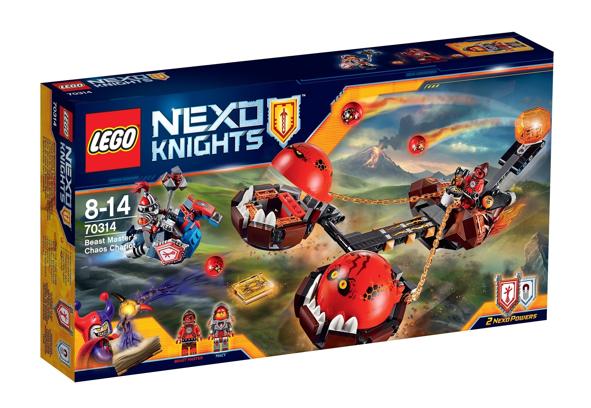 LEGO® Chaos-Kutsche des Monster-Meisters (70314), »LEGO® NEXO KNIGHTS™«