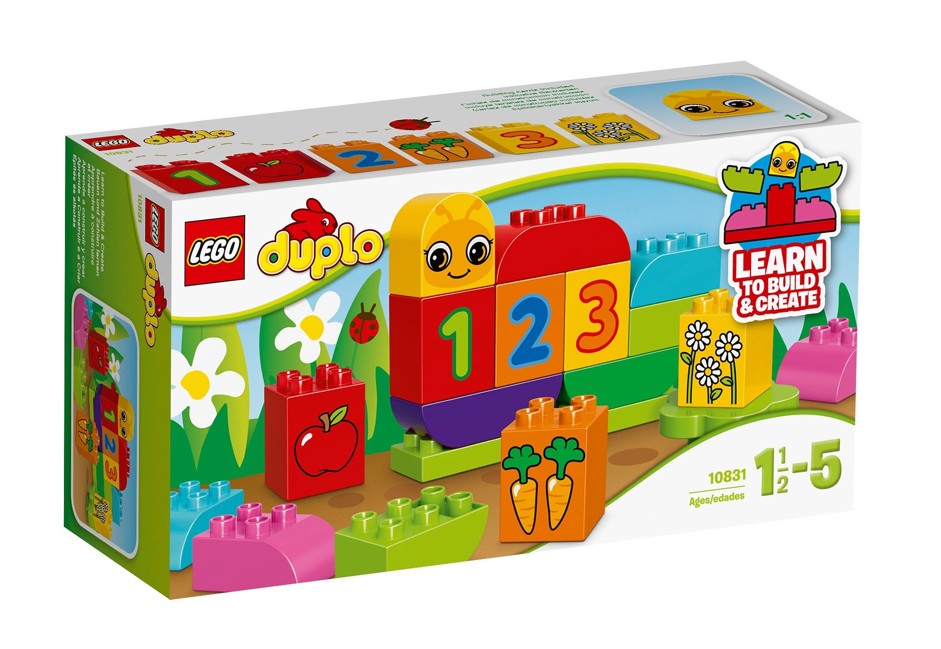 LEGO® Meine erste Zahlenraupe (10831), »LEGO® DUPLO® Creative Play«