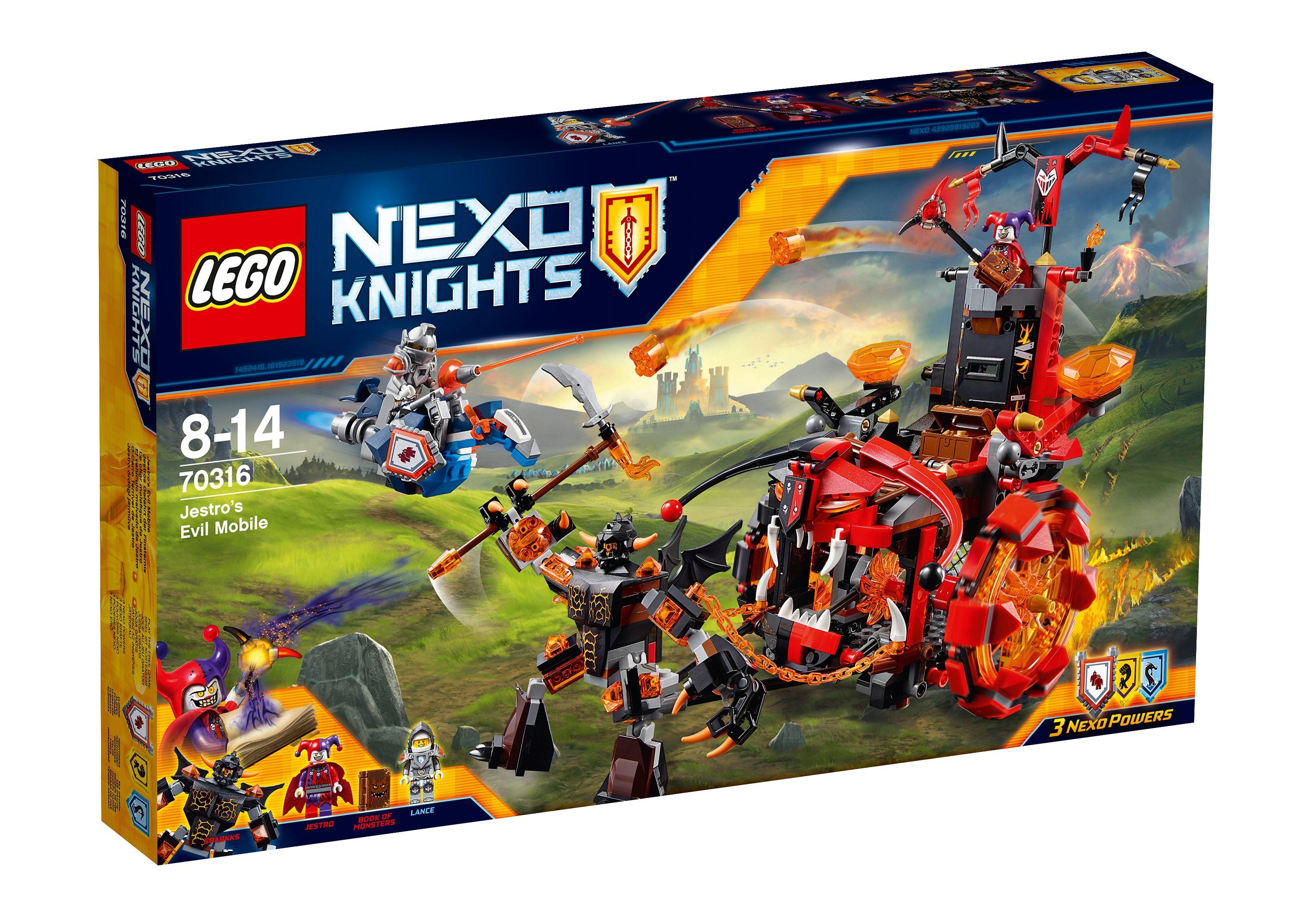 LEGO® Jestros Gefährt der Finsternis (70316), »LEGO® NEXO KNIGHTS™«
