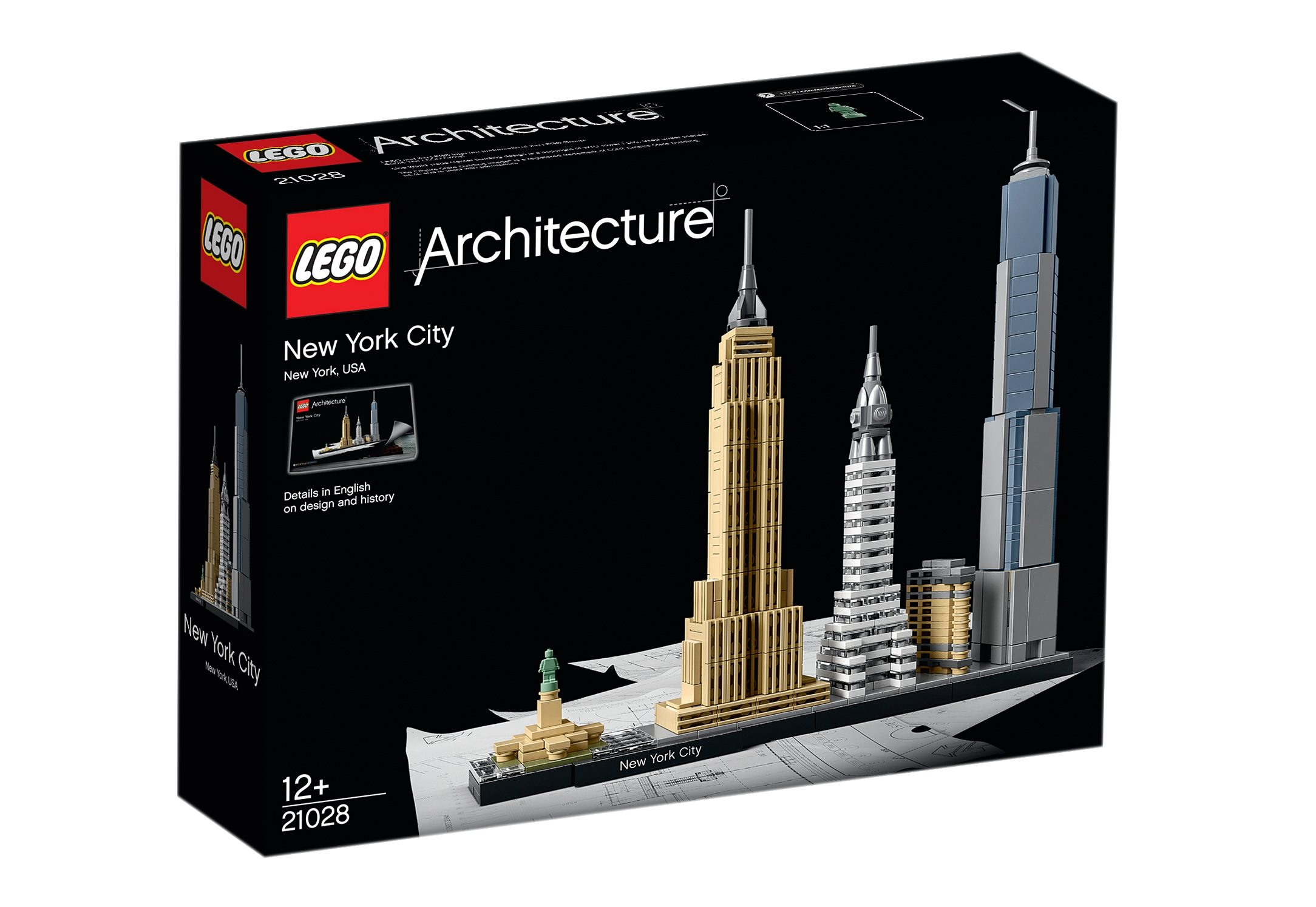 LEGO®, New York City (21028), »LEGO® Architecture«