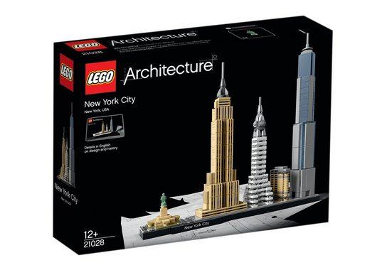 LEGO® Konstruktionsspielsteine »New York City (21028), LEGO® Architecture«, (598 St)
