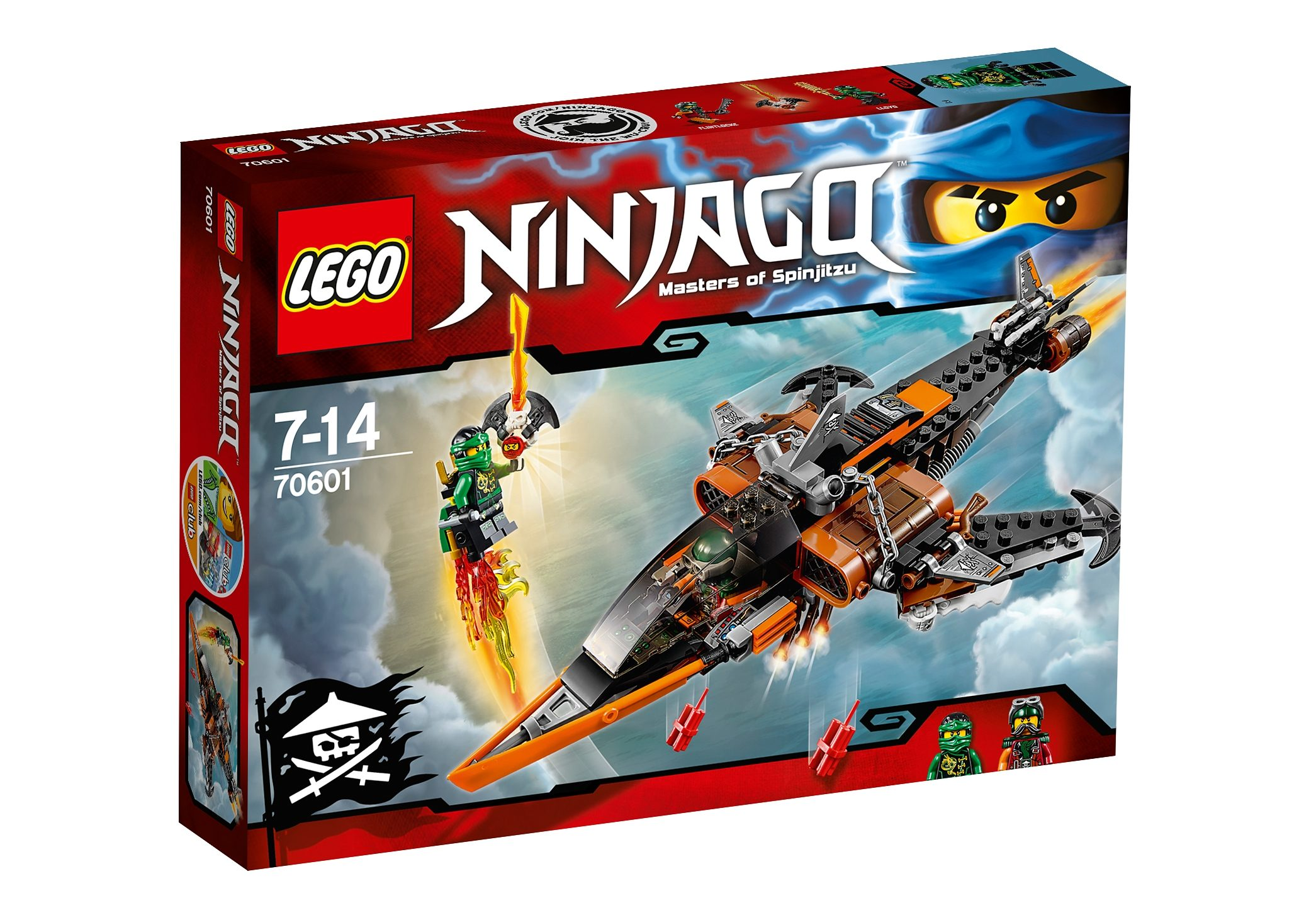 LEGO®, Luft-Hai (70601), »LEGO® NINJAGO™«