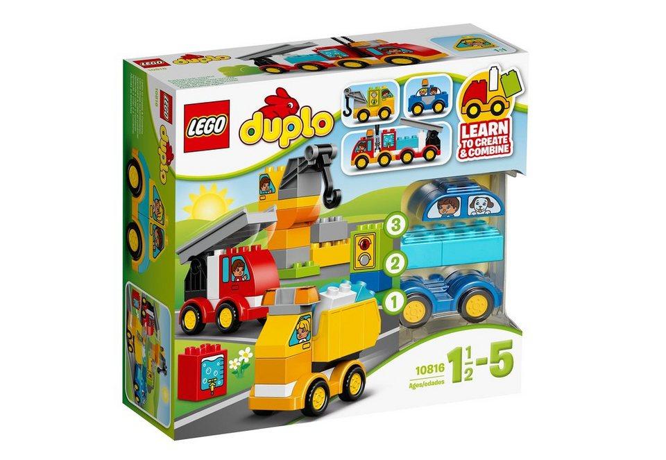 LEGO®, Meine ersten Fahrzeuge (10816),  LEGO® DUPLO®  online kaufen