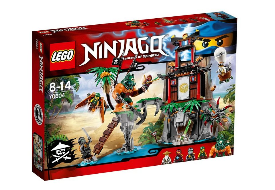 LEGO®, Schwarze Witwen-Insel (70604), »LEGO® NINJAGO™«