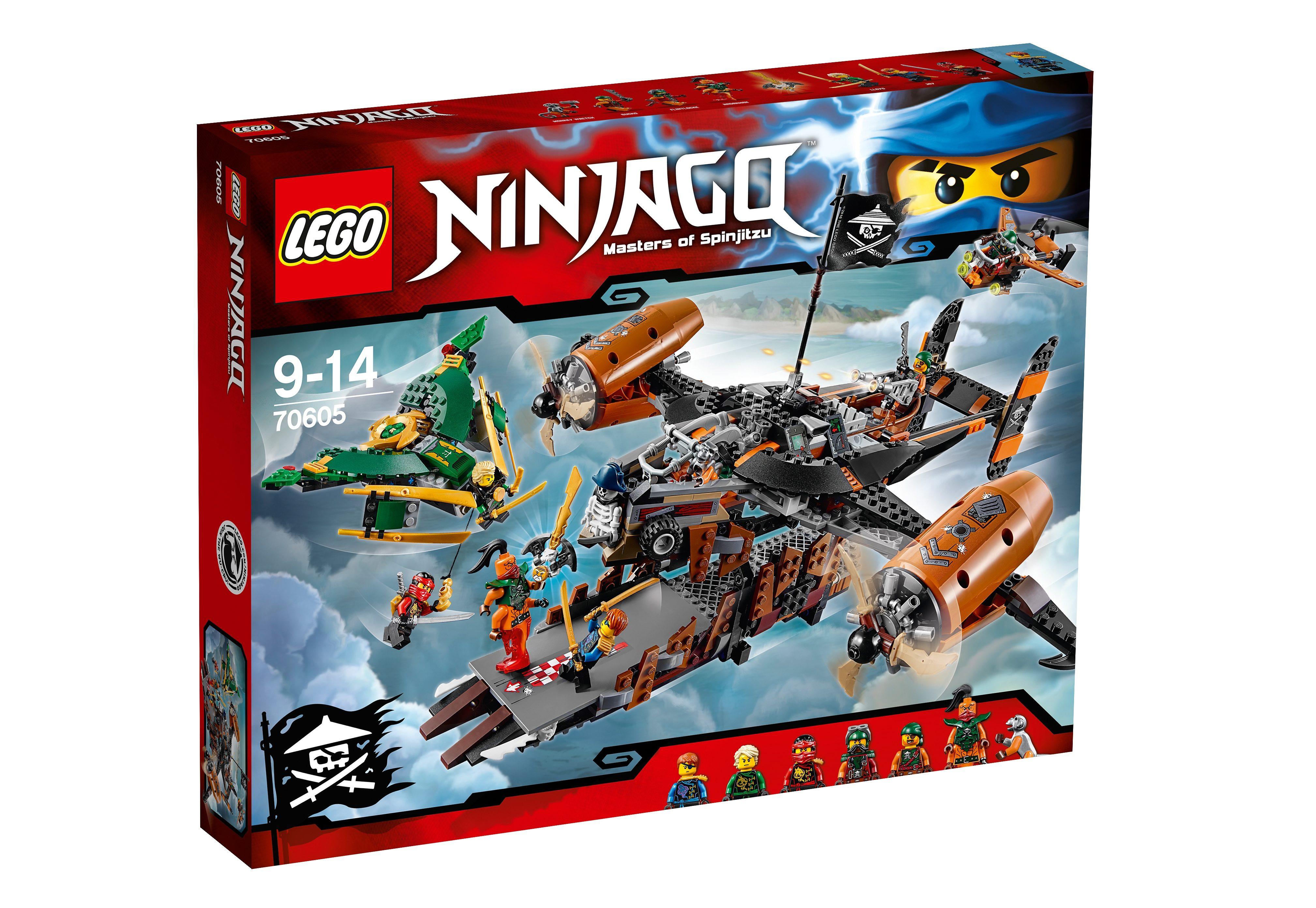 LEGO®, Luftschiff des Unglücks (70605), »LEGO® NINJAGO™«