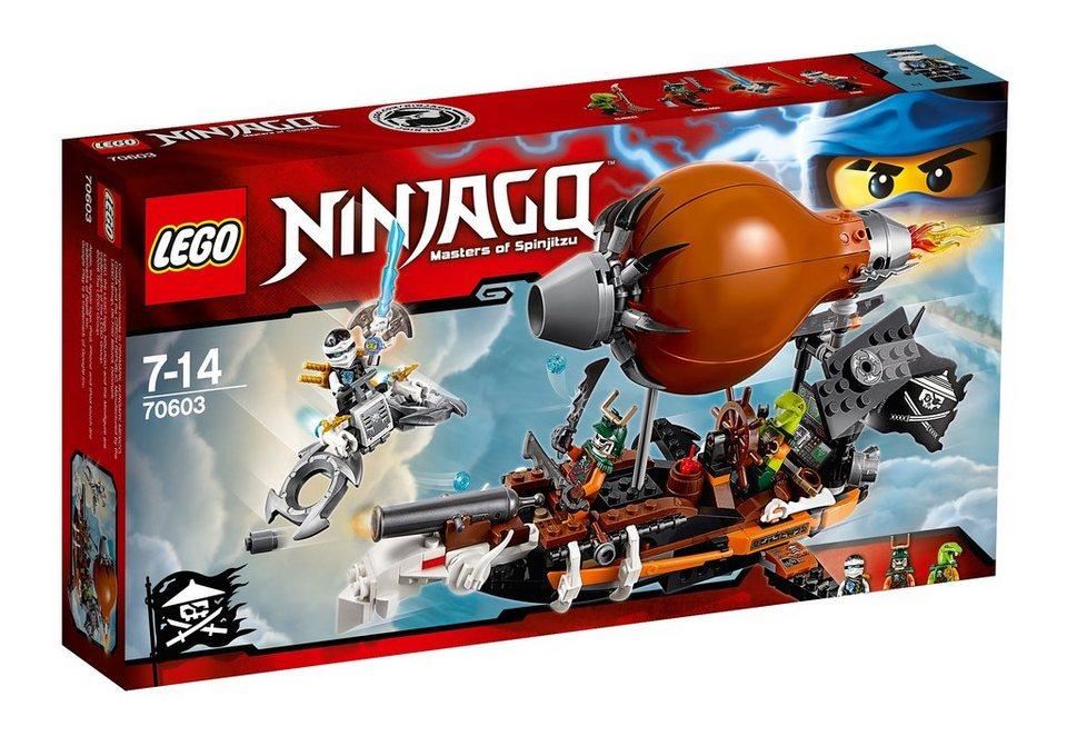 LEGO®, Kommando-Zeppelin (70603), »LEGO® NINJAGO™« in braun