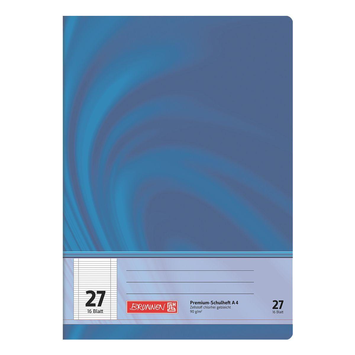 Brunnen Schulheft A4 liniert (Lineatur 25) »Vivendi 104472702«