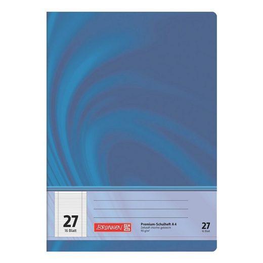 BRUNNEN Schulheft A4 liniert (Lineatur 27) »Vivendi 104472702«