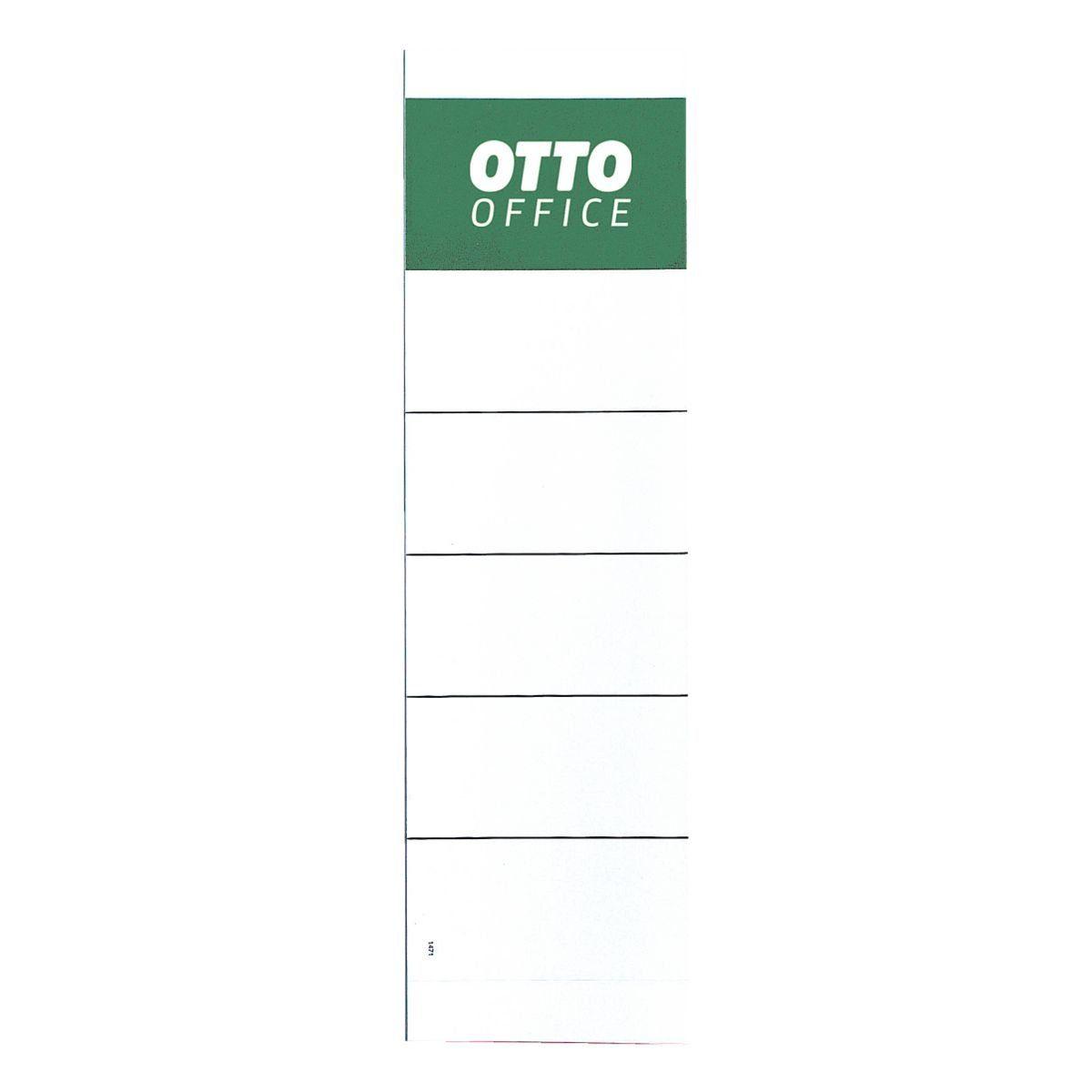 OTTO Office Standard Ordner-Rückenschilder zum Einstecken