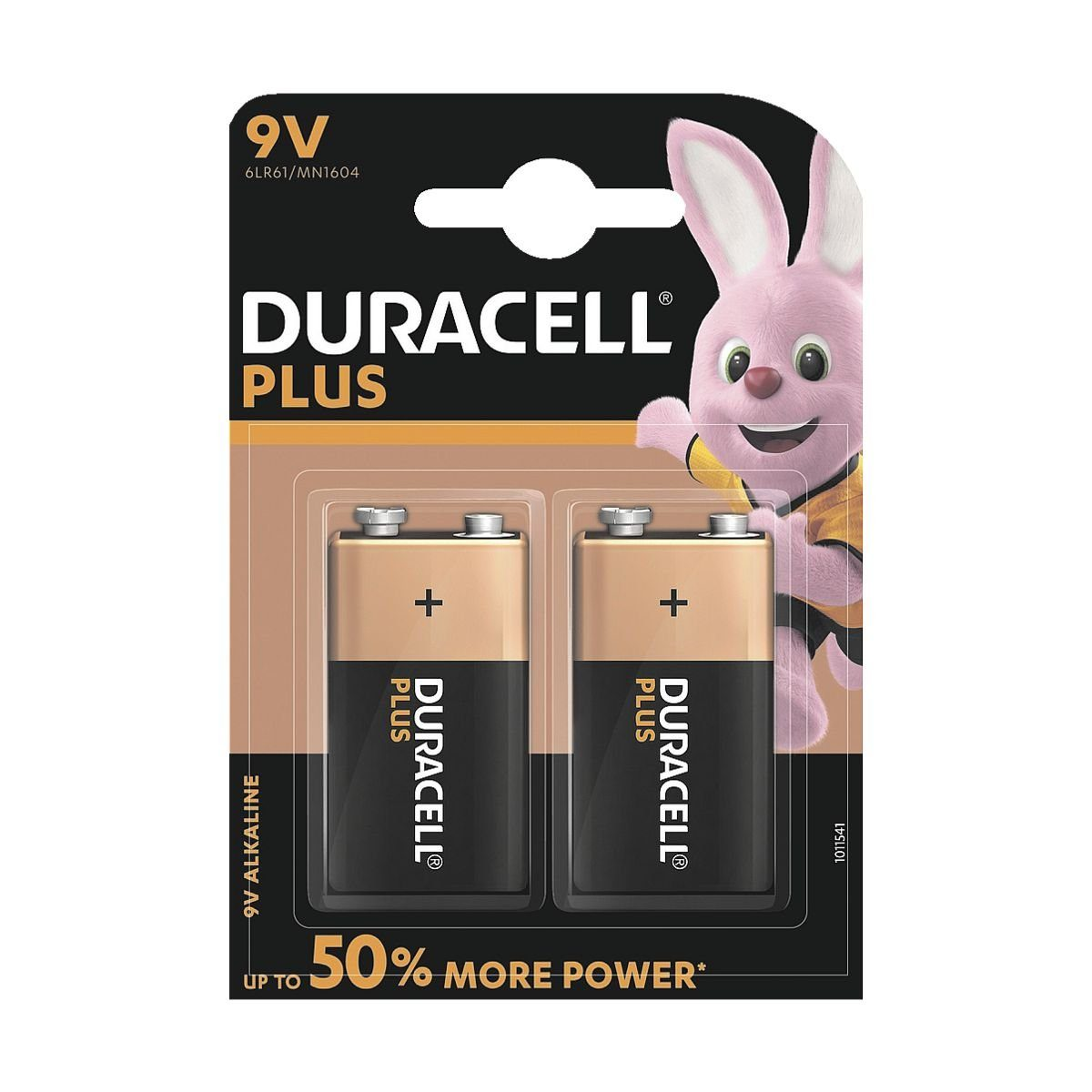 Duracell Batterie E-Block / 6LR61 »Plus Power«
