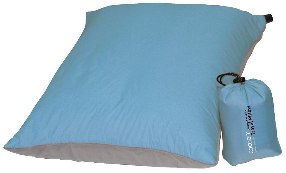 Cocoon Reisekissen »Air-Core Pillow Ultralight 33x43cm« in blau