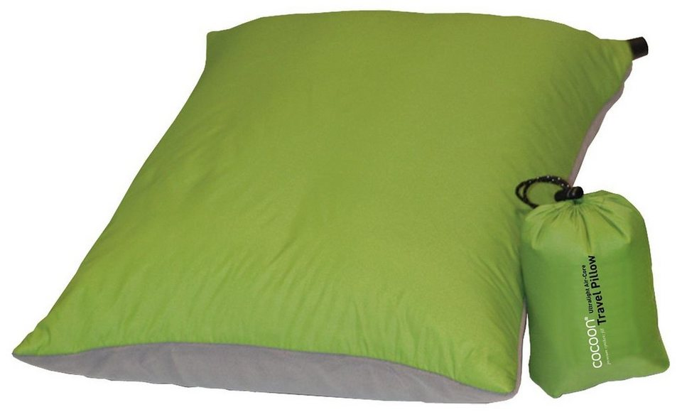 Cocoon Reisekissen »Air-Core Pillow Ultralight 33x43cm« in grün
