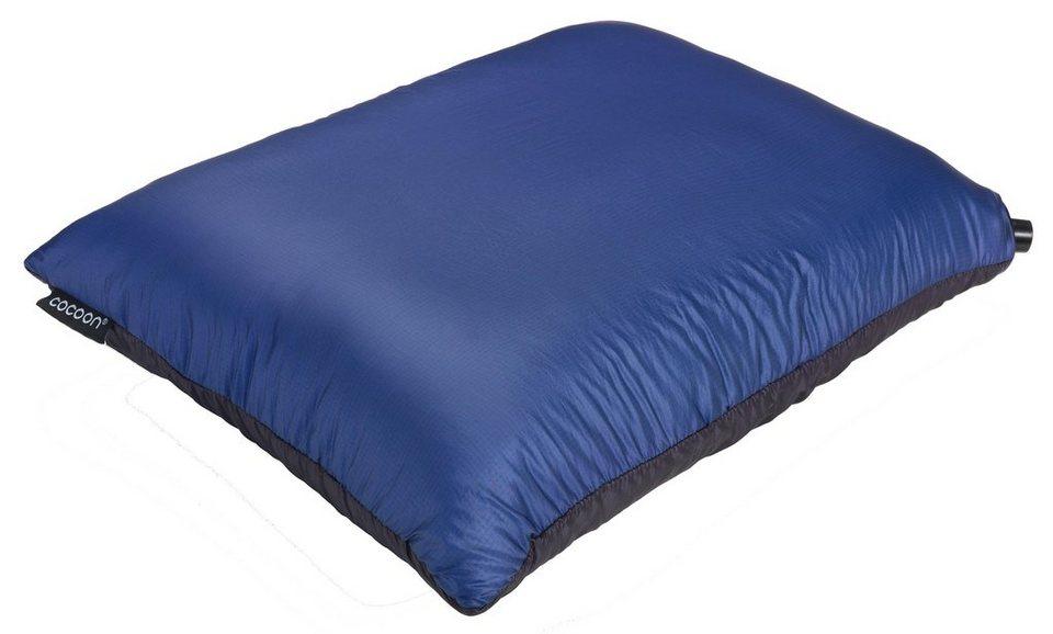 Cocoon Outdoor-Equipment »Air-Core Pillow Hyperlight« in blau