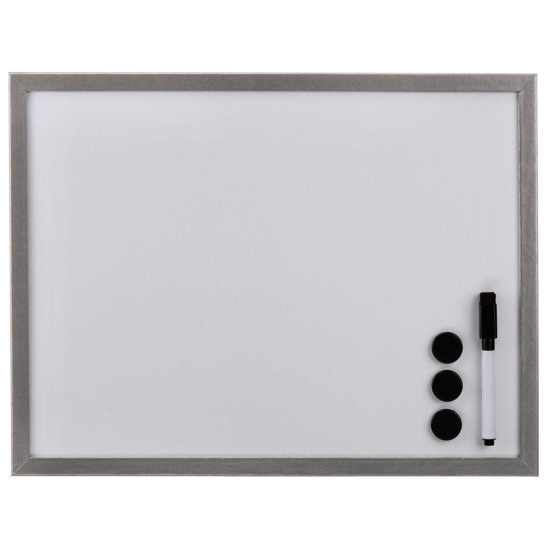 Hama Whiteboard, 60 x 80 cm, Holz, Silber