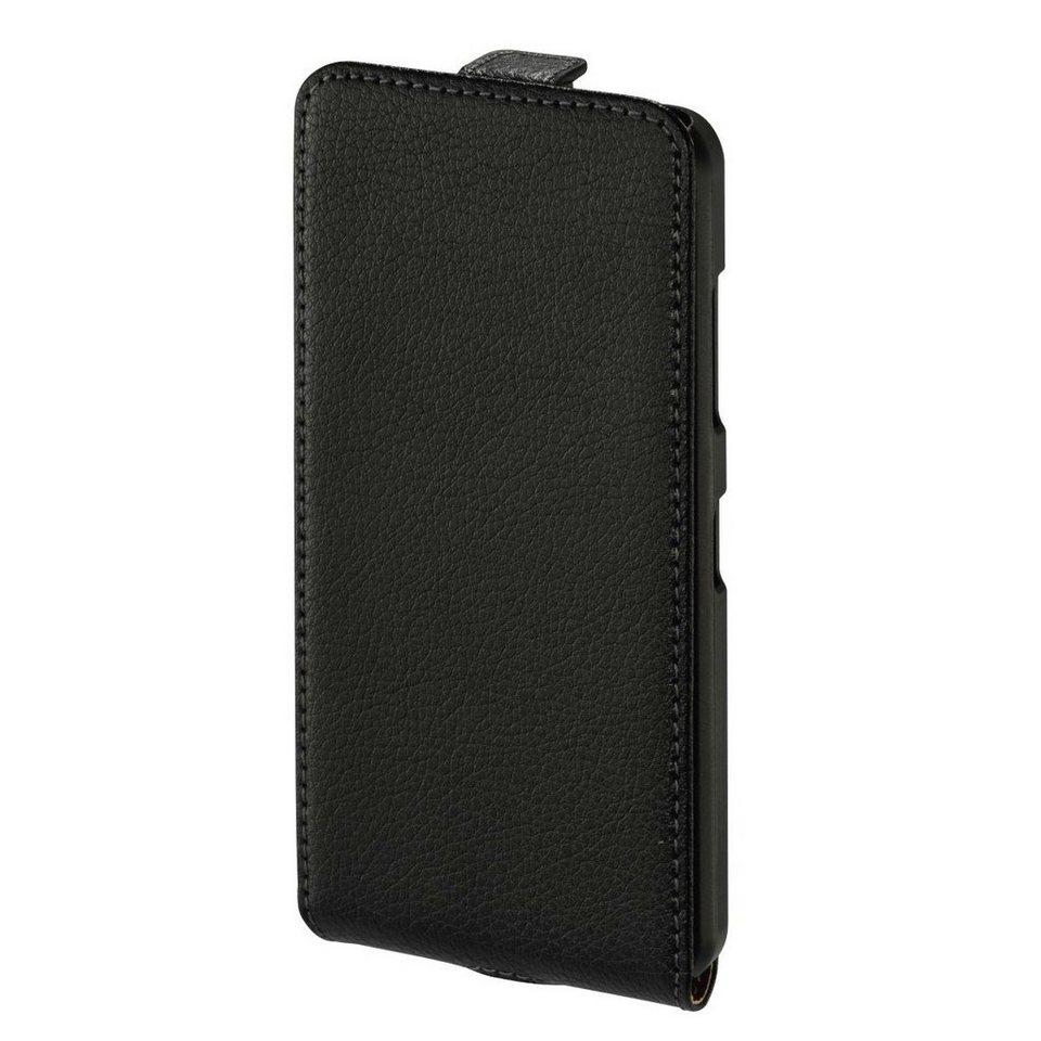 Hama Flap-Tasche Smart Case für Microsoft Lumia 550, Schwarz in Schwarz