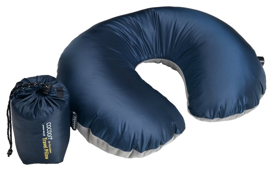 Cocoon Reisekissen »Air Core Down U-Shaped Neck Pillow« in blau