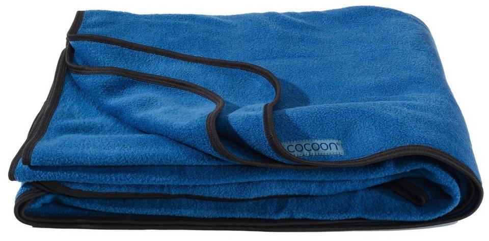 Cocoon Reisedecke »Fleece Blanket« in blau