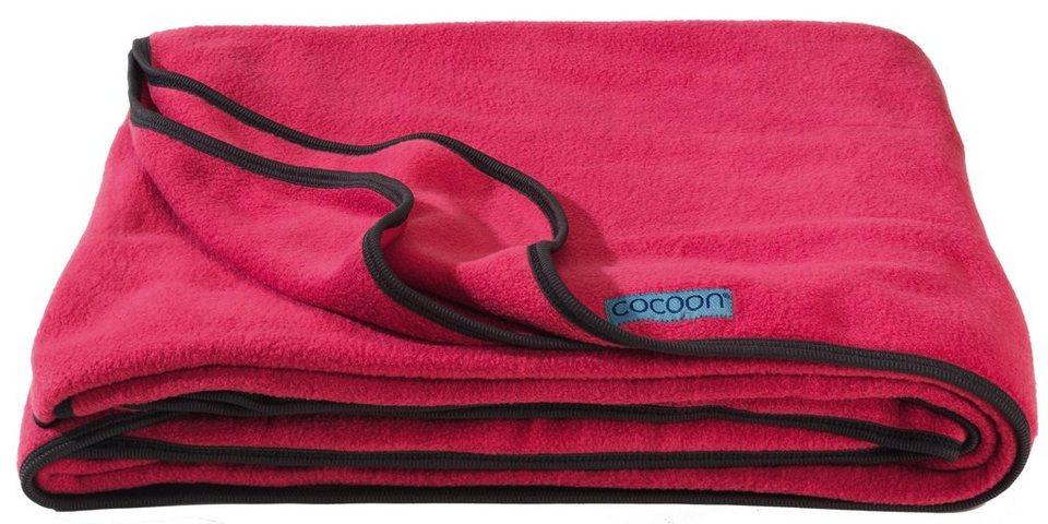 Cocoon Reisedecke »Fleece Blanket« in rot