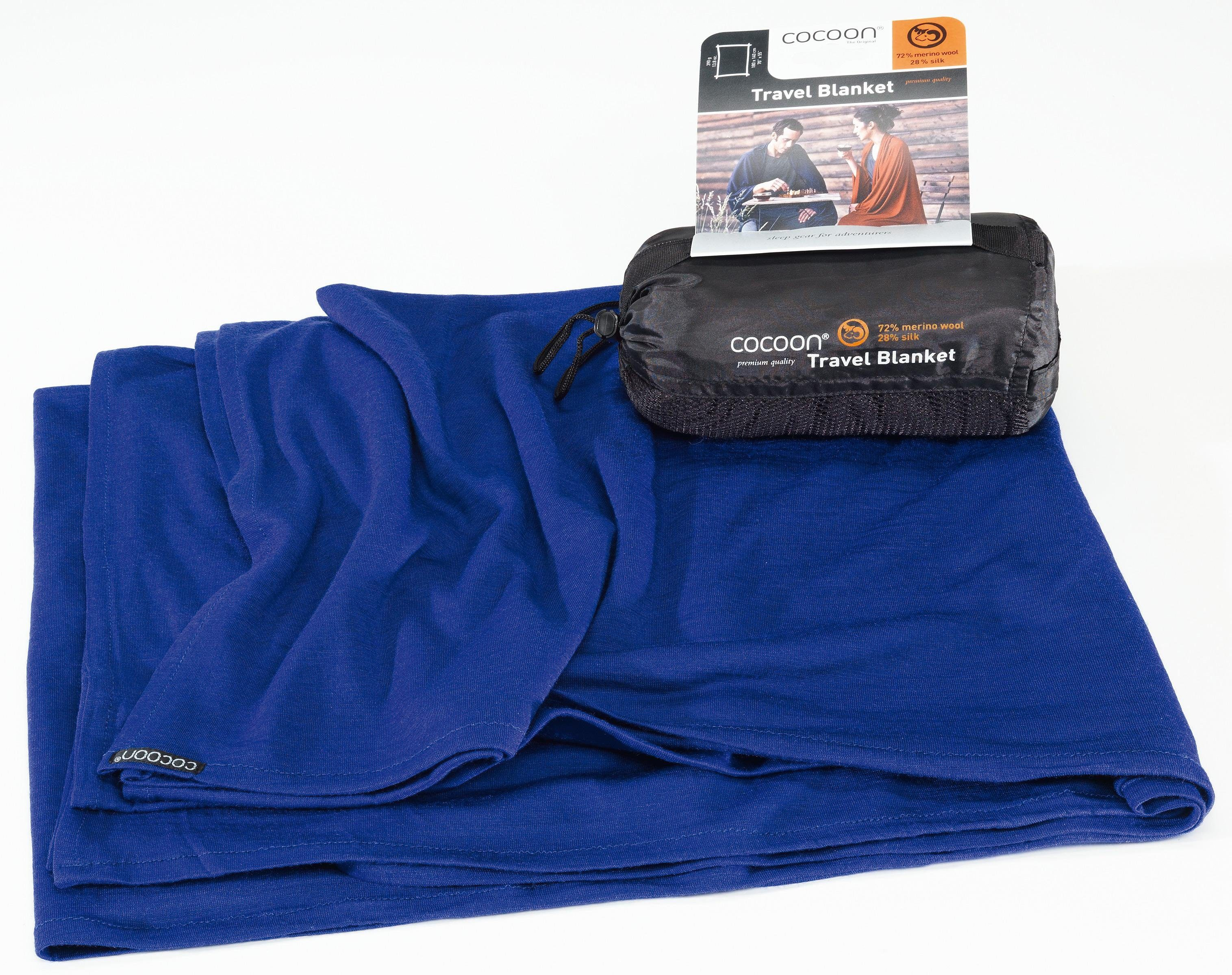 Cocoon Reisedecke »Travel Blanket Merino Wool/Silk«