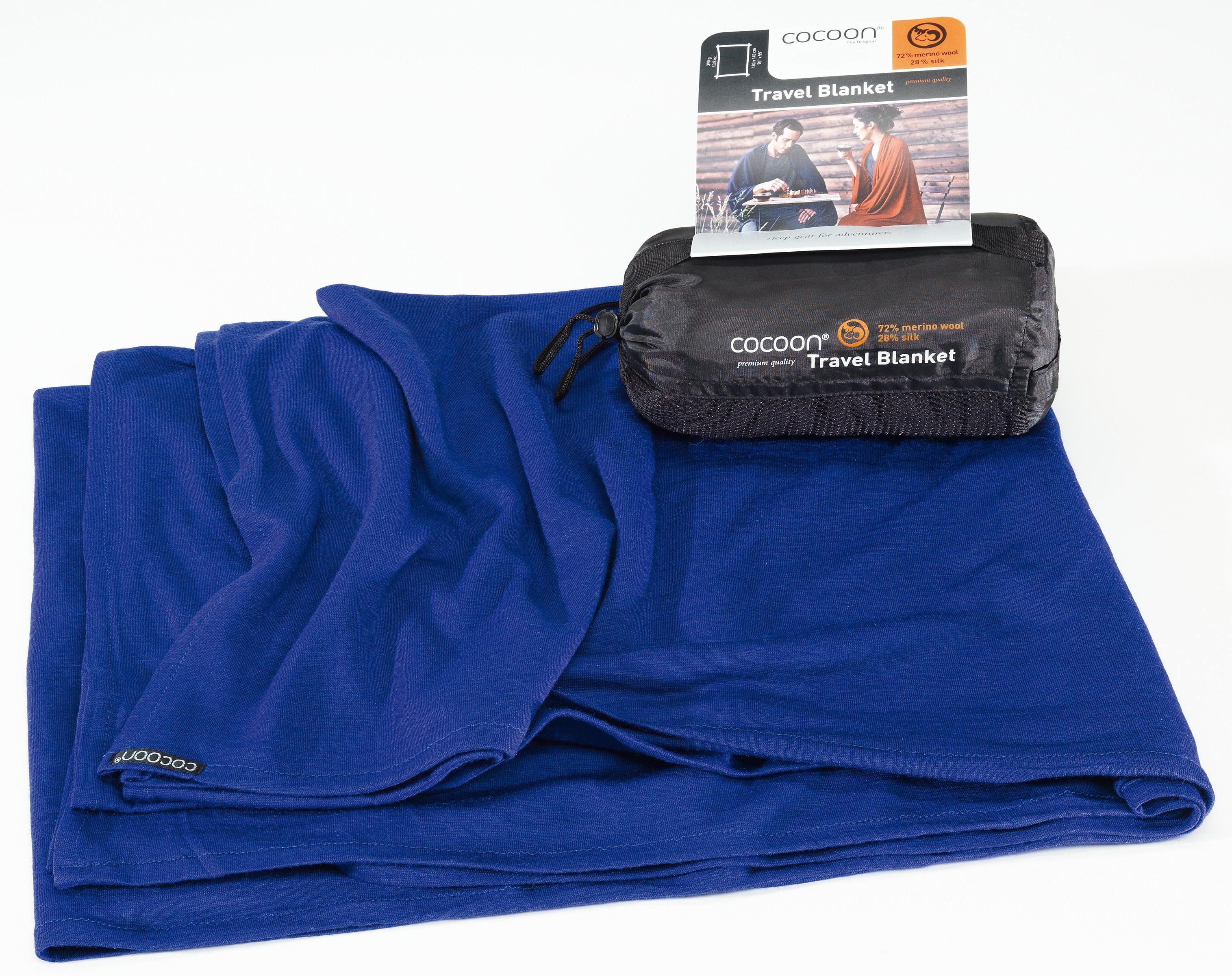 Cocoon Reisedecke »Travel Blanket Merino Wool/Silk«