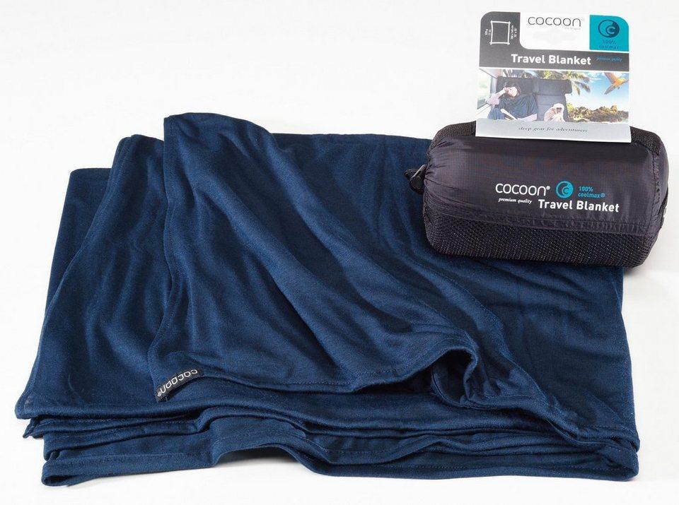 Cocoon Reisedecke »Travel Blanket CoolMax« in blau